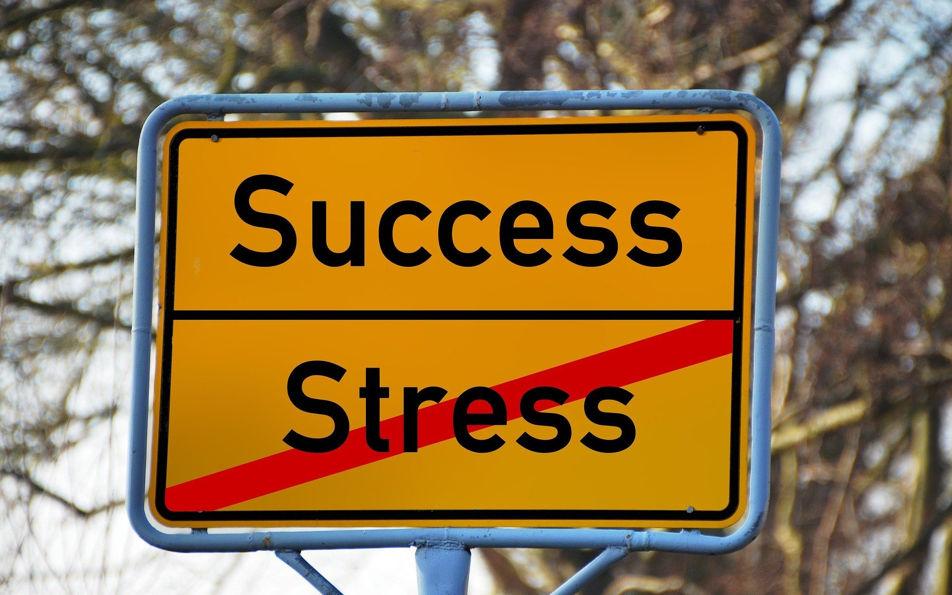 Method to deal with stress